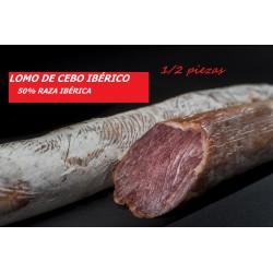 Lomo de Cebo Ibérico 50%raza Ibérica
