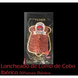 Loncheado Lomo DE CEBO IBÉRICO 100gr